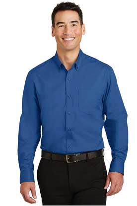 Picture of Port Authority ®  Tall SuperPro ™  Twill Shirt. TS663