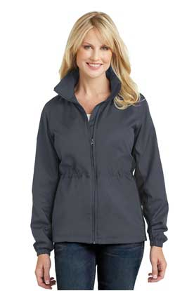 Picture of Port Authority ®  Ladies Core Colorblock Wind Jacket. L330