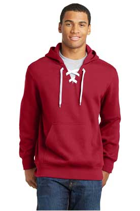 Picture of Sport-Tek ®  Lace Up Pullover Hooded Sweatshirt. ST271
