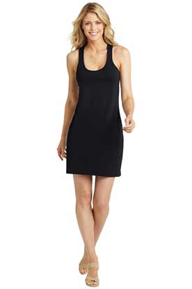 Picture of District Made ®  Ladies 60/40 Racerback Dress. DM423