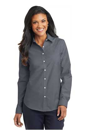 Picture of Port Authority ®  Ladies SuperPro ™  Oxford Shirt. L658