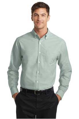Picture of Port Authority ®  SuperPro ™  Oxford Shirt. S658