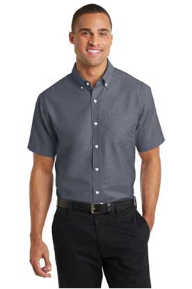 Picture of Port Authority ®  Short Sleeve SuperPro ™  Oxford Shirt. S659