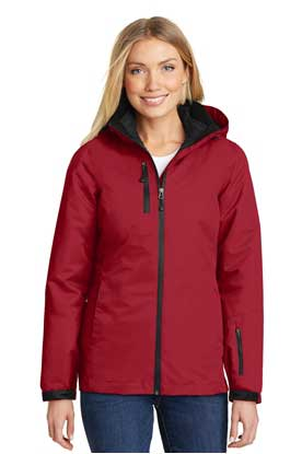 Picture of Port Authority ®  Ladies Vortex Waterproof 3-in-1 Jacket. L332
