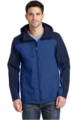 Picture of Port Authority ®  Hooded Core Soft Shell Jacket. J335