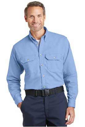 Picture of Bulwark ®  EXCEL FR ®  ComforTouch ®  Dress Uniform Shirt. SLU2