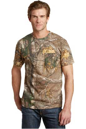 Picture of Russell Outdoors ™  - Realtree ®  Explorer 100% Cotton T-Shirt with Pocket. S021R