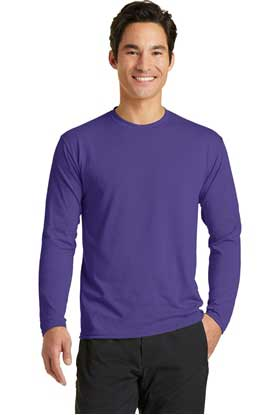 Picture of Port & Company ®  Long Sleeve Performance Blend Tee. PC381LS
