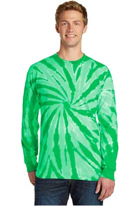 Picture of Port & Company ®  Tie-Dye Long Sleeve Tee.  PC147LS