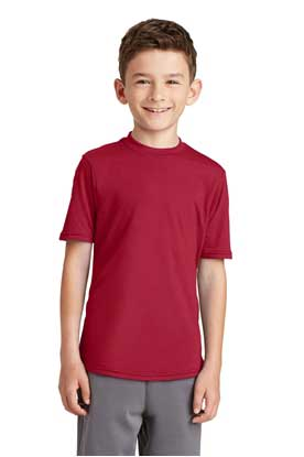 Picture of Port & Company ®  Youth Performance Blend Tee. PC381Y