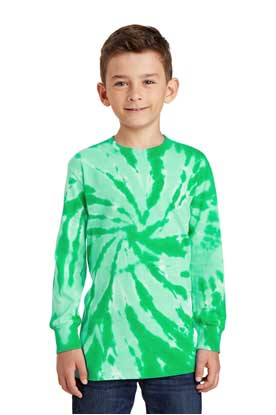 Picture of Port & Company ®  Youth Tie-Dye Long Sleeve Tee.  PC147YLS