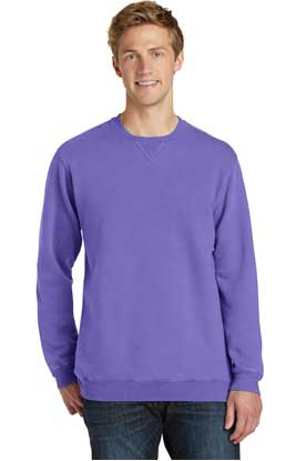 Picture of Port & Company ®  Pigment-Dyed Crewneck Sweatshirt. PC098
