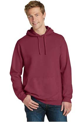 Picture of Port & Company ®  Pigment-Dyed Pullover Hooded Sweatshirt. PC098H