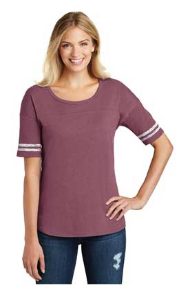 Picture of District Made  ®  Ladies Scorecard Tee. DT487