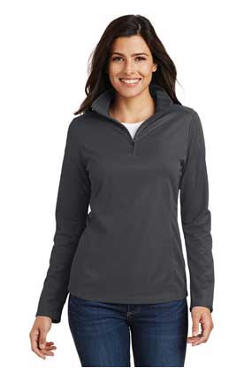Picture of Port Authority ®  Ladies Pinpoint Mesh 1/2-Zip . L806