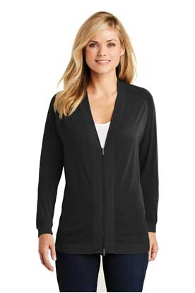 Picture of Port Authority ®  Ladies Concept Bomber Cardigan. LK5431