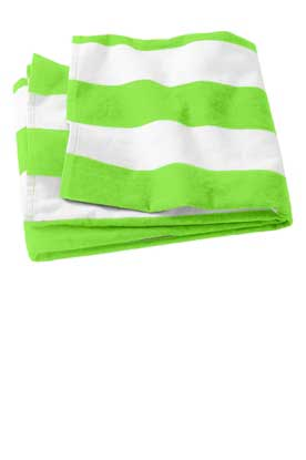 Picture of Port Authority ®  Cabana Stripe Beach Towel. PT43
