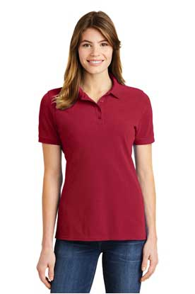 Picture of Port & Company ®  Ladies Ring Spun Pique Polo. LKP1500