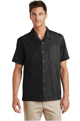 Picture of Port Authority ®  Textured Camp Shirt. S662