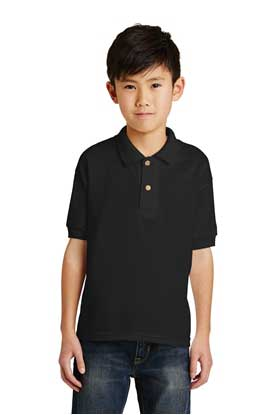 Picture of Gildan ®  Youth DryBlend ®  6-Ounce Jersey Knit Sport Shirt. 8800B