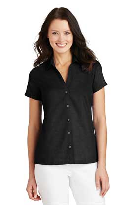Picture of Port Authority ®  Ladies Textured Camp Shirt. L662