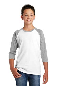 Picture of District  ®  Youth Very Important Tee  ®  3/4-Sleeve . DT6210Y