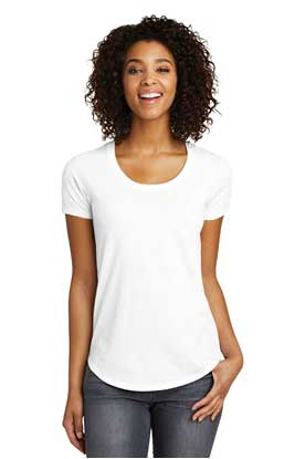 Picture of District ®  Juniors Scoop Neck Very Important Tee ® . DT6401