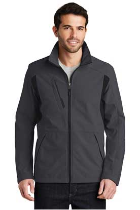 Picture of Port Authority ®  Back-Block Soft Shell Jacket. J336