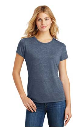 Picture of District Made ®  Ladies Perfect Tri ®  Crew Tee. DM130L