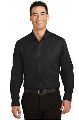 Picture of Port Authority ®  SuperPro ™  Twill Shirt. S663