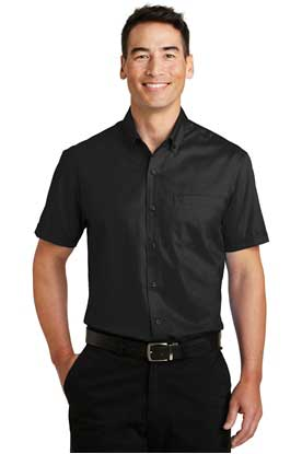 Picture of Port Authority ®  Short Sleeve SuperPro ™  Twill Shirt. S664