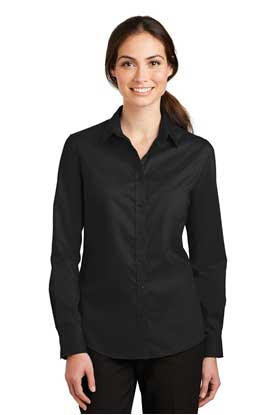 Picture of Port Authority ®  Ladies SuperPro ™  Twill Shirt. L663
