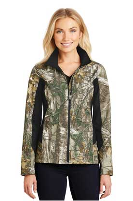 Picture of Port Authority ®  Ladies Camouflage Colorblock Soft Shell. L318C