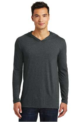 Picture of District Made ®  Mens Perfect Tri ®  Long Sleeve Hoodie. DM139