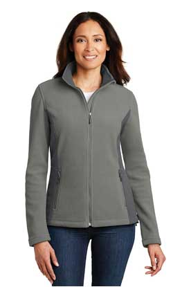 Picture of Port Authority ®  Ladies Colorblock Value Fleece Jacket. L216