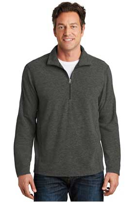 Picture of Port Authority ®  Heather Microfleece 1/2-Zip Pullover. F234