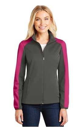 Picture of Port Authority ®  Ladies Active Colorblock Soft Shell Jacket. L718