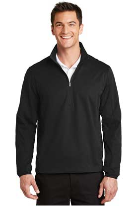 Picture of Port Authority ®  Active 1/2-Zip Soft Shell Jacket. J716