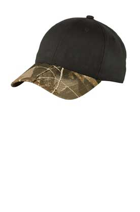 Picture of Port Authority ®  Twill Cap with Camouflage Brim. C931
