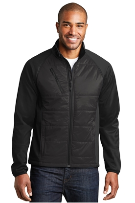Picture of Port Authority ®  Hybrid Soft Shell Jacket. J787