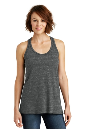 Picture of District Made ®  Ladies Cosmic Twist Back Tank. DM466