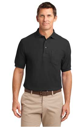 Picture of Port Authority ®  Tall Silk Touch™ Polo with Pocket. TLK500P