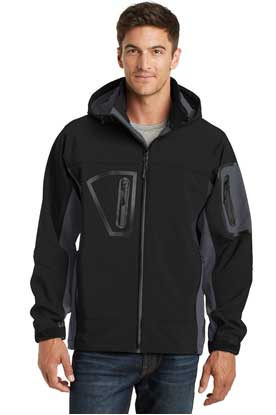 Picture of Port Authority ®  Tall Waterproof Soft Shell Jacket. TLJ798