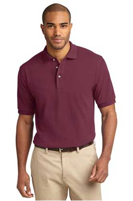 Picture of Port Authority ®  Tall Heavyweight Cotton Pique Polo.  TLK420