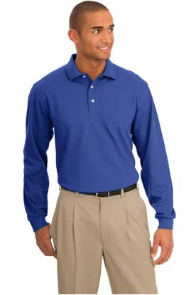 Picture of Port Authority ®  Tall Rapid Dry™ Long Sleeve Polo. TLK455LS