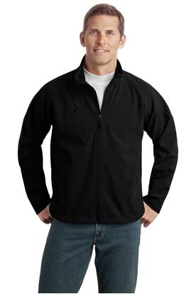 Picture of Port Authority ®  Tall Textured Soft Shell Jacket. TLJ705