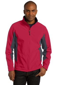Picture of Port Authority ®  Tall Core Colorblock Soft Shell Jacket. TLJ318