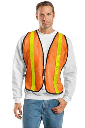 Picture of Port Authority ®  Mesh Enhanced Visibility Vest.  SV02