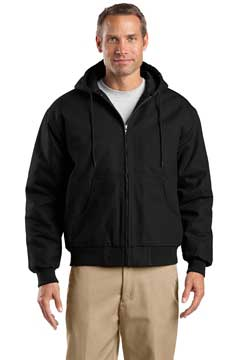 Picture of CornerStone ®  Tall Duck Cloth Hooded Work Jacket. TLJ763H