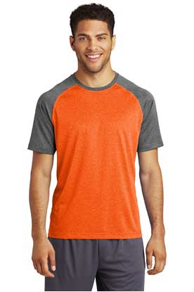 Picture of Sport-Tek  ®  Heather-On-Heather Contender  ™  Tee. ST362